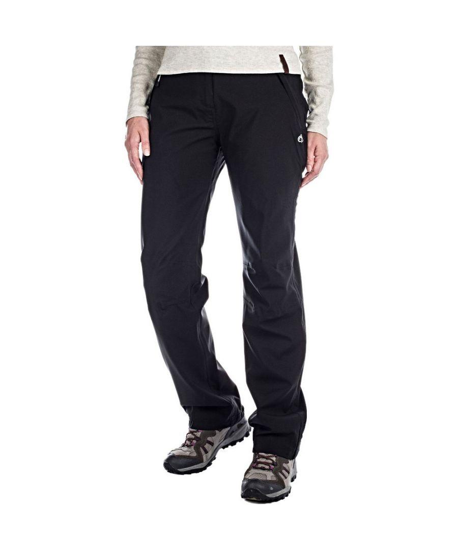 Image for Craghoppers Womens Aysgarth Waterproof Walking Trousers