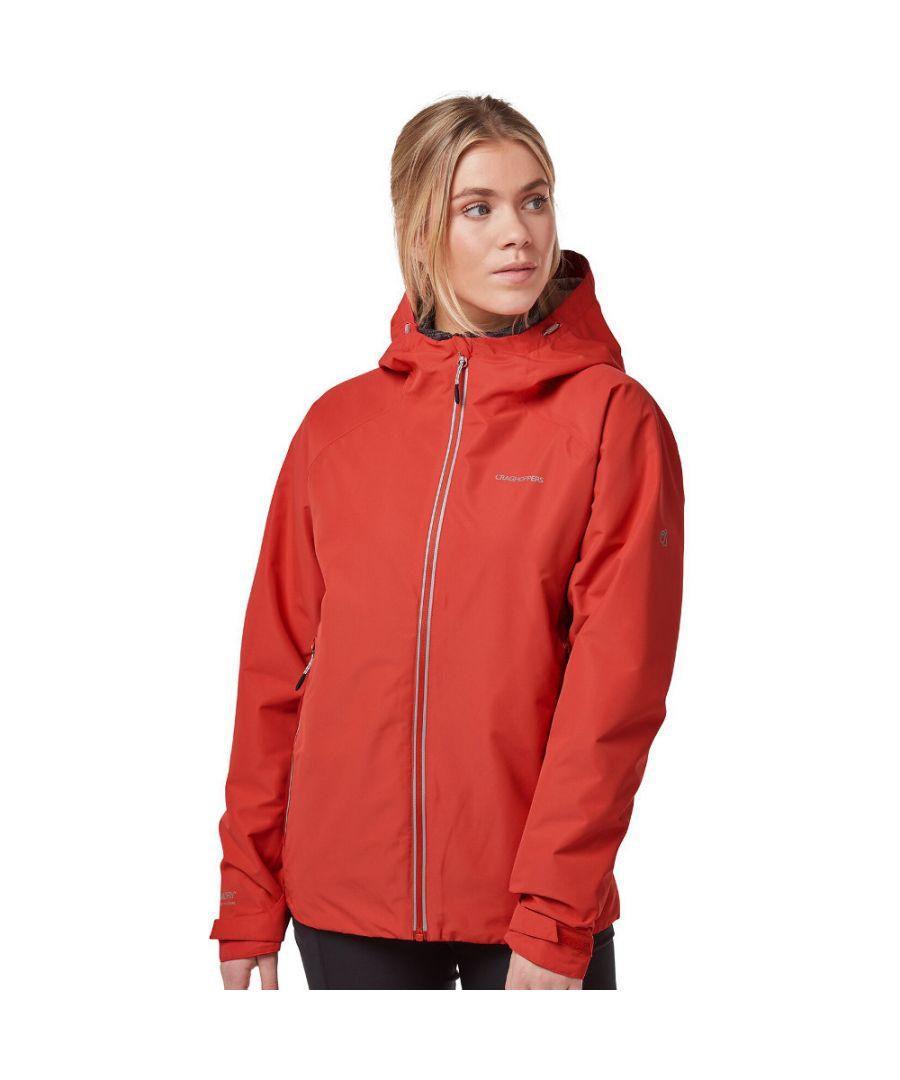 Image for Craghoppers Womens Atlas Waterproof Breathable Hooded Coat