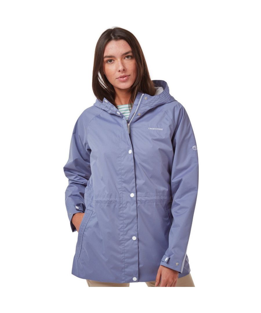 Image for Craghoppers Womens Adriana Hooded Waterproof Coat