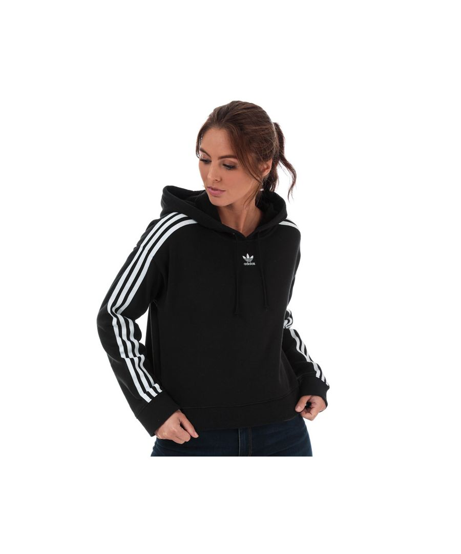 Image for Women's adidas Originals Cropped Hoody in Black