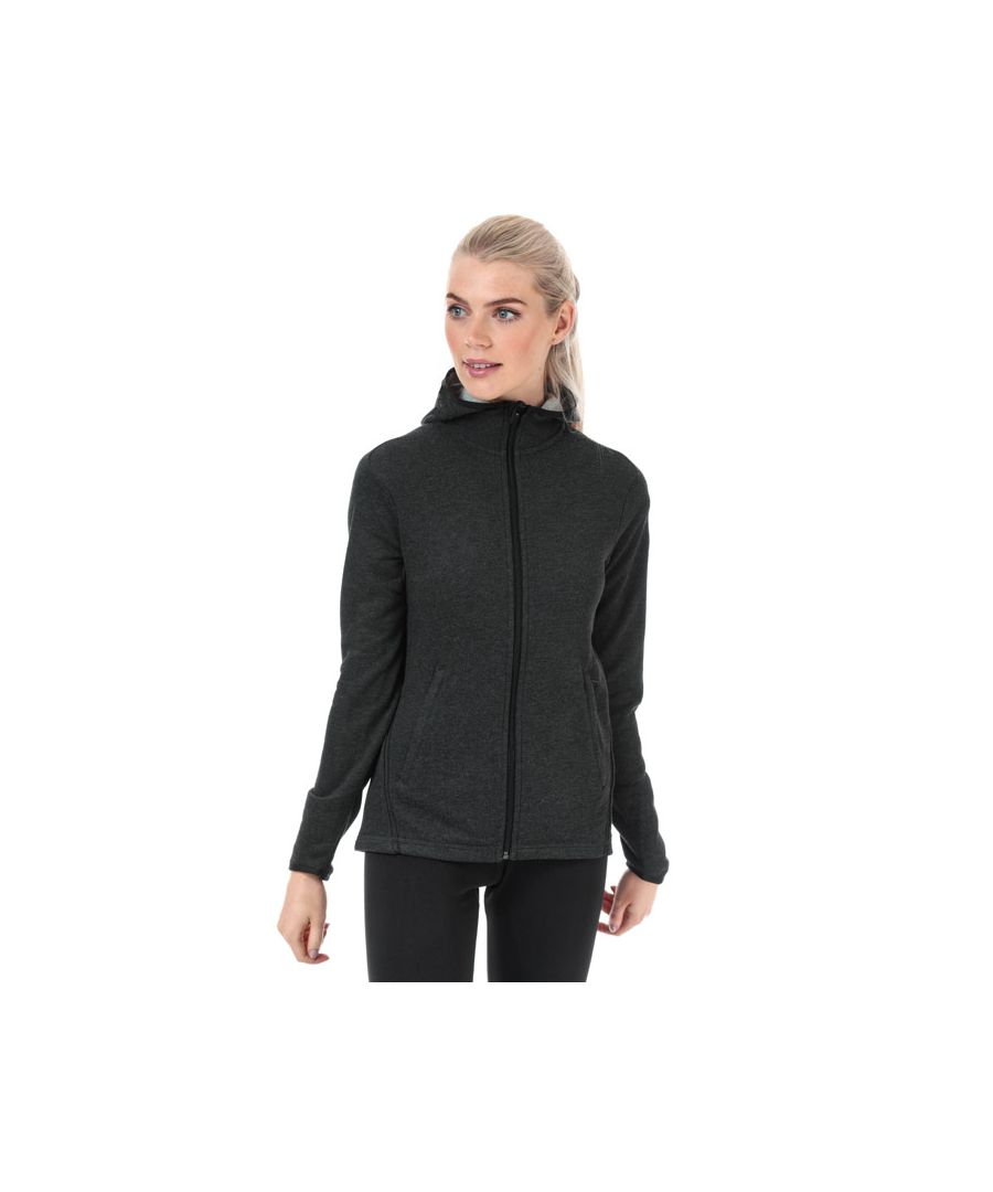 Image for Women's adidas Freelift Light Zip Hoody in Charcoal