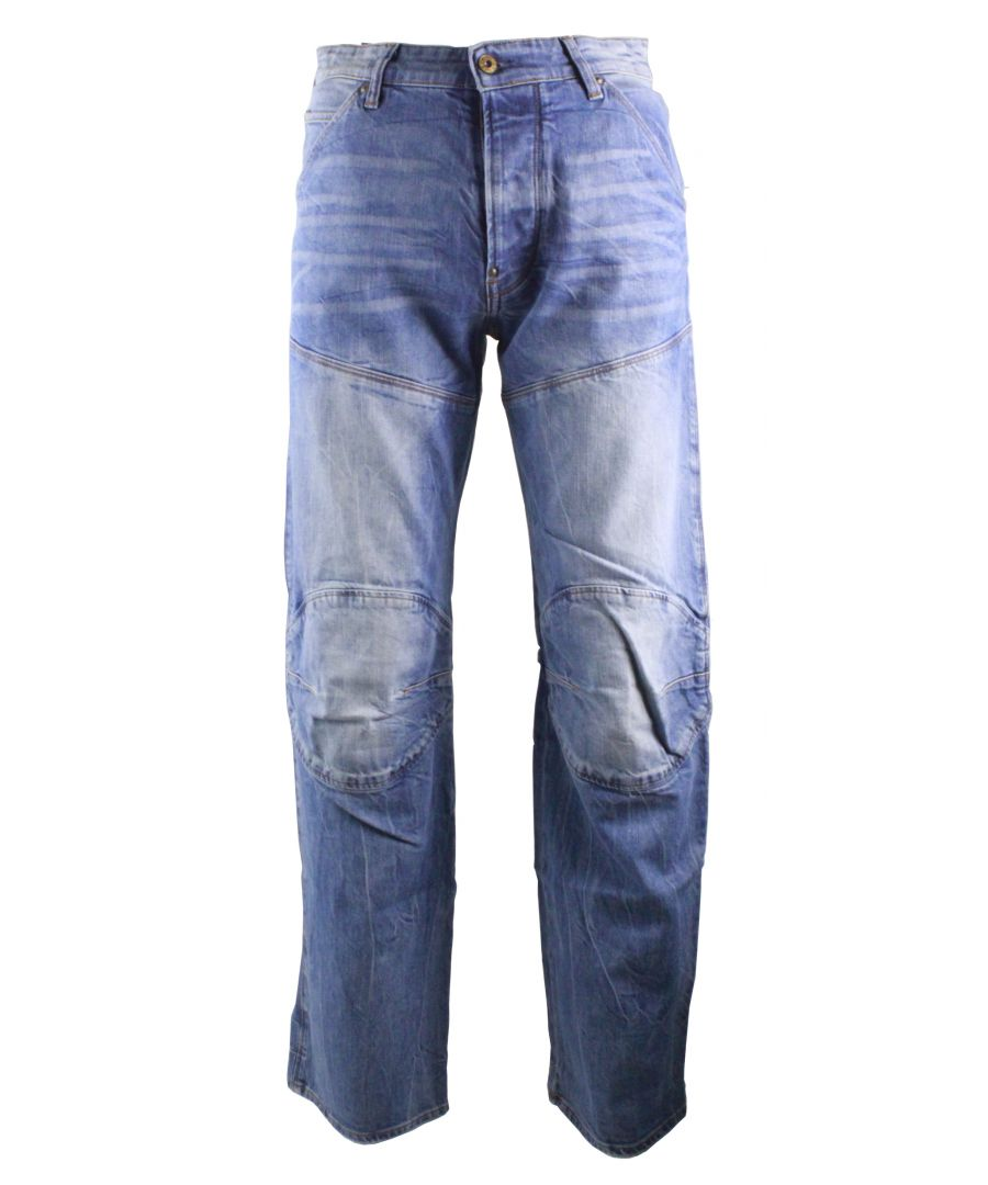 Image for G-Star 5620 3D Stretch Med Aged  Hadron Stretch Denim Jeans