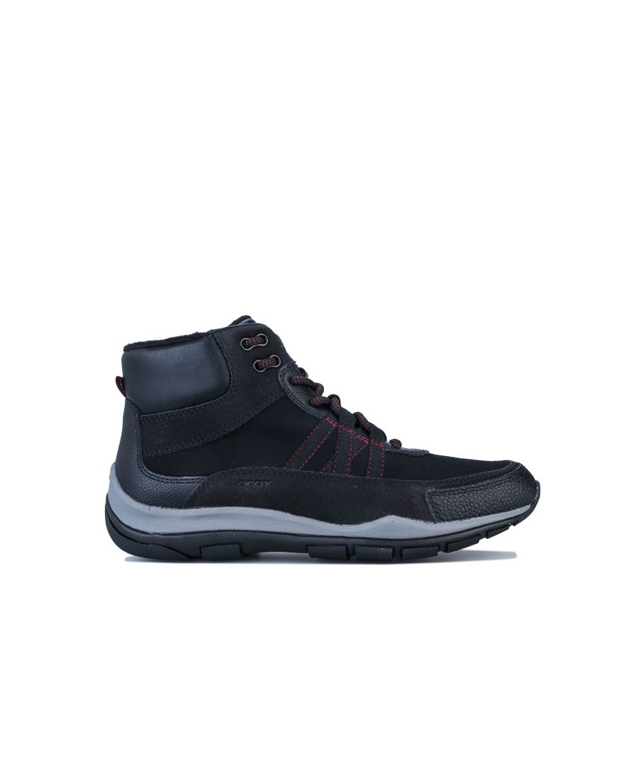 Image for Women's Geox Kander Hi-Top Trainers in Black