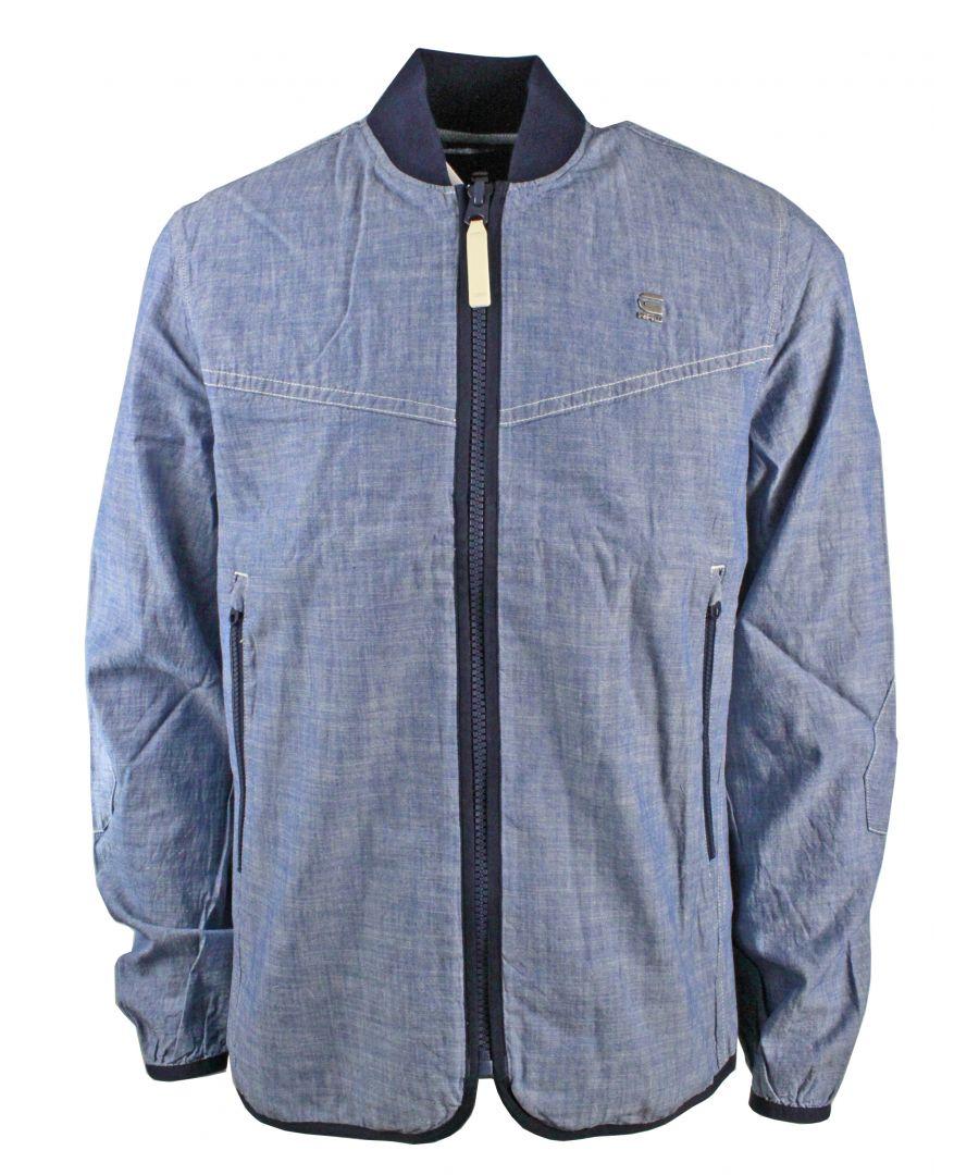 Image for G-Star Setscale Overshirt L/S LT WT Blue Lockstart Chambray Rinsed Jacket