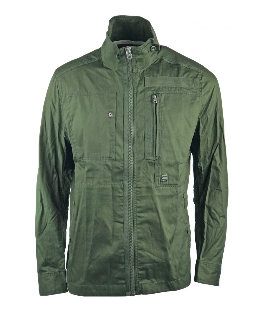 Image for G-Star Powel DC Overshirt Forest Night Premium Twill Jacket