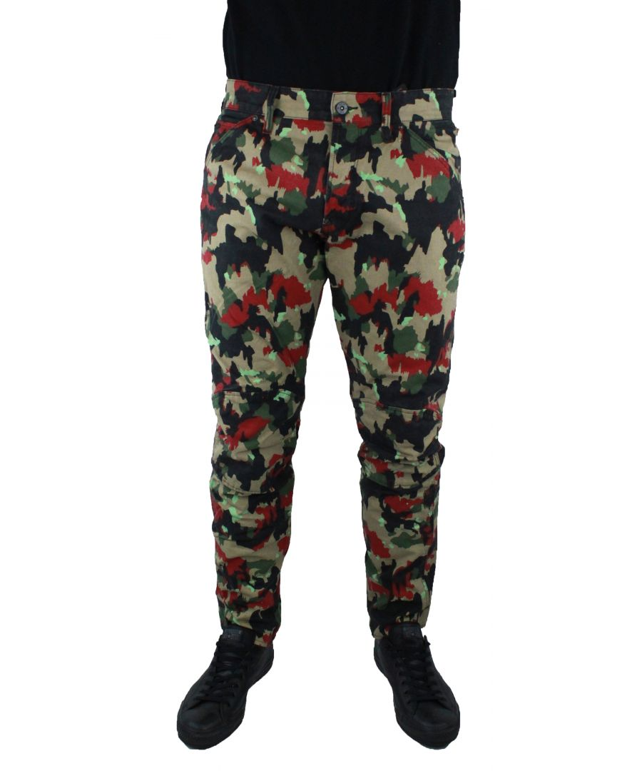 Image for G-Star 5622 3D Tapeerd COJ Camo 8481 Jeans