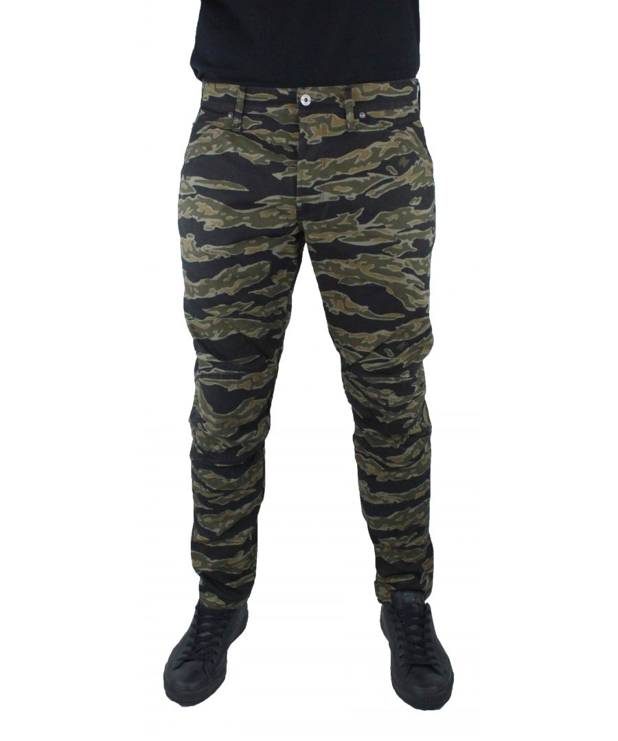 Image for G-Star 5622 3D Tapered COJ Camo 8673 Jeans