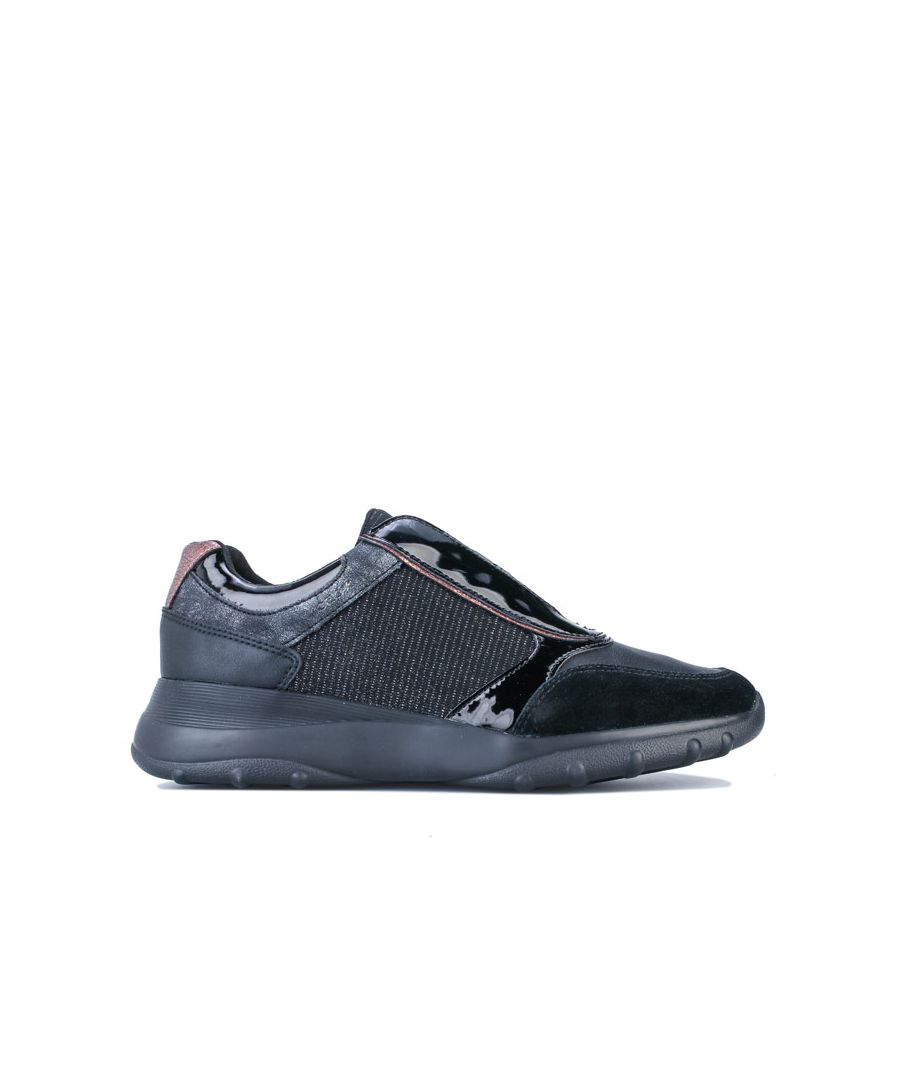 Image for Women's Geox Alleniee Trainers in Black