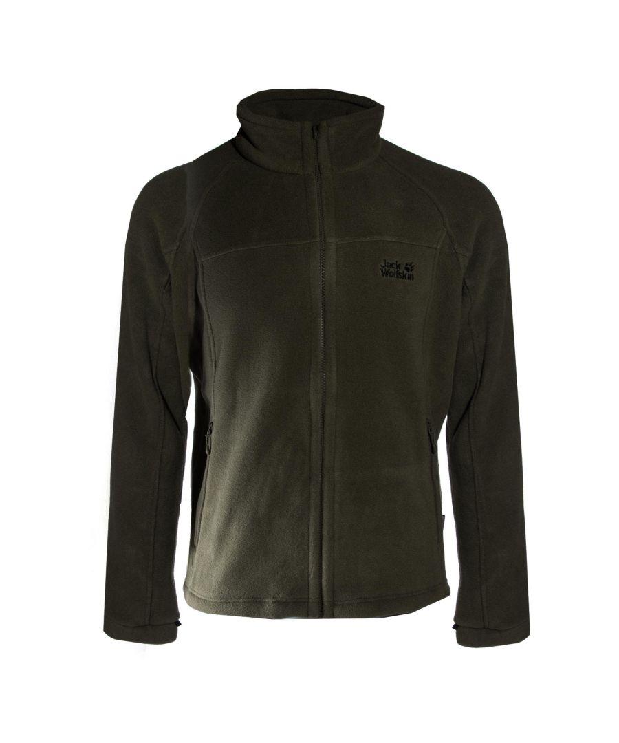 Image for Jack Wolfskin Feel Good Mens Fleece Jacket Black - L