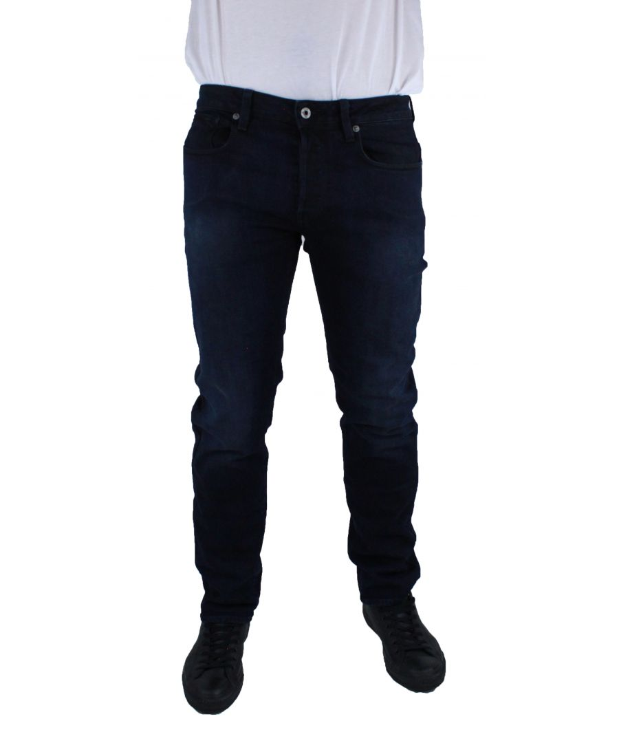 Image for G-Star 3301 OT Straight DK Aged Cyclo Straight Denim Jeans