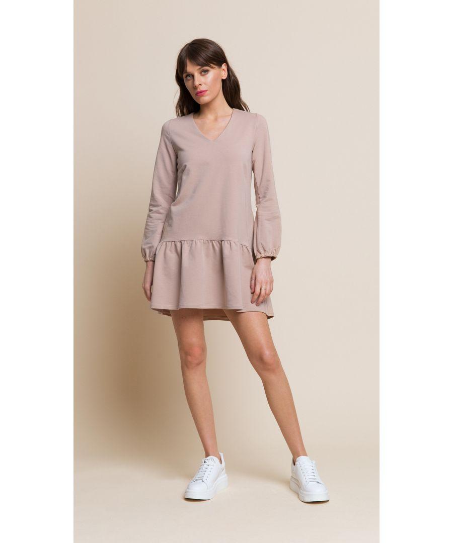 Image for Rose Beige Dress