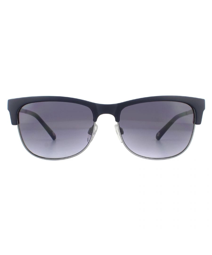 Image for Ted Baker Sunglasses TB1528 Dalton 650 Navy Blue Gradient