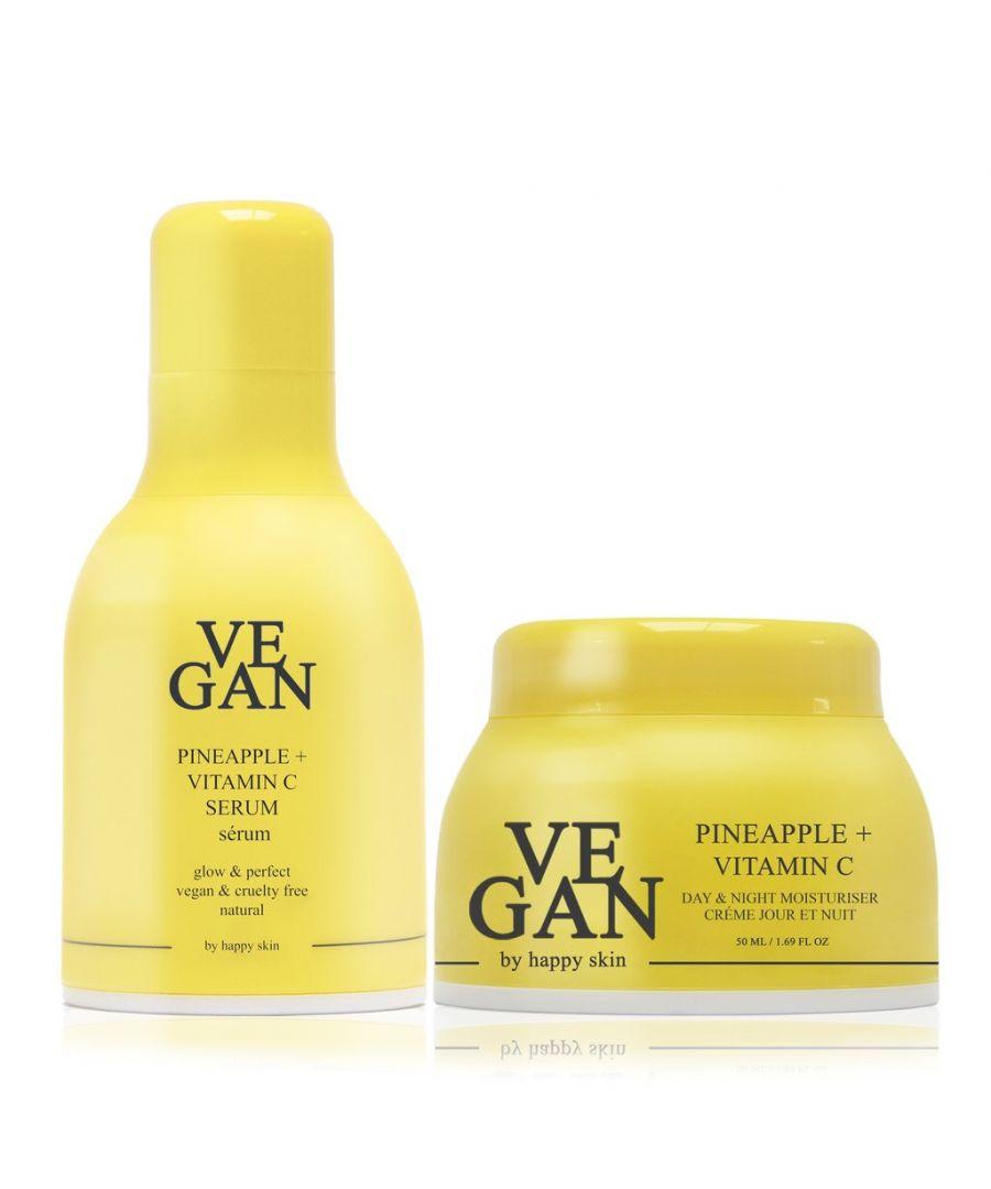 Image for PINEAPPLE + VITAMIN C cream 50ml + PINEAPPLE + VITAMIN C serum 30ml