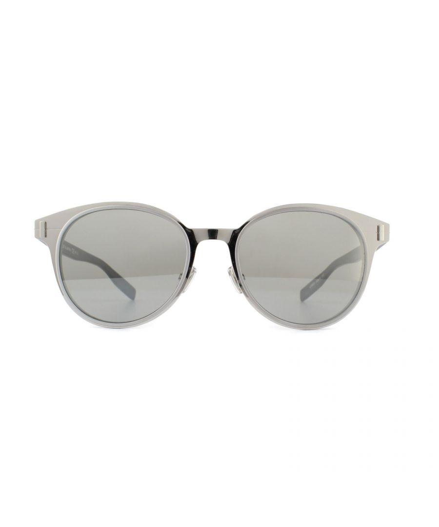 Image for Dior Sunglasses Dior Depth01 QR8 SS Palladium Black Silver Mirror