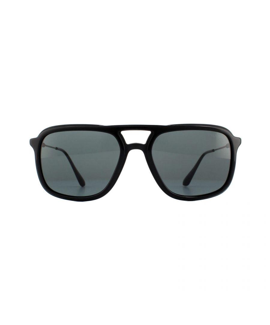 Image for Prada Sunglasses PR 06VS 1AB1A1 Black Grey
