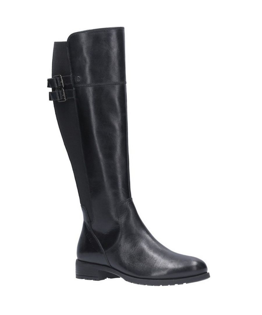 Image for Hush Puppies Women's Arla High Leather Boots (Black)