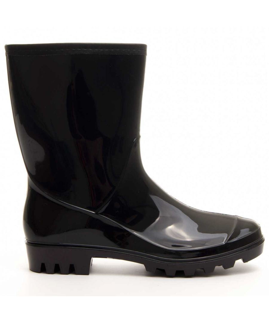 Image for Montevita Wellington Boot in Black