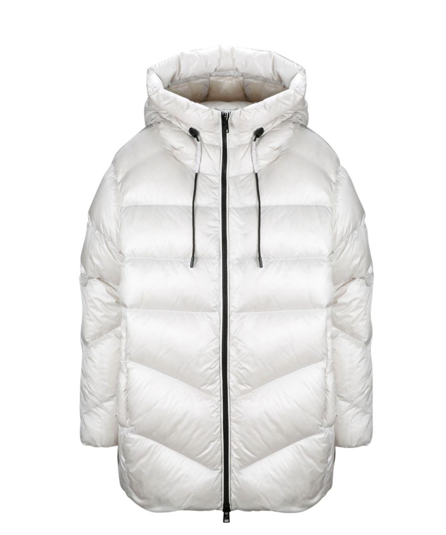 Image for WOOLRICH WOMEN'S WWCPS2839UT17028034 WHITE POLYAMIDE DOWN JACKET