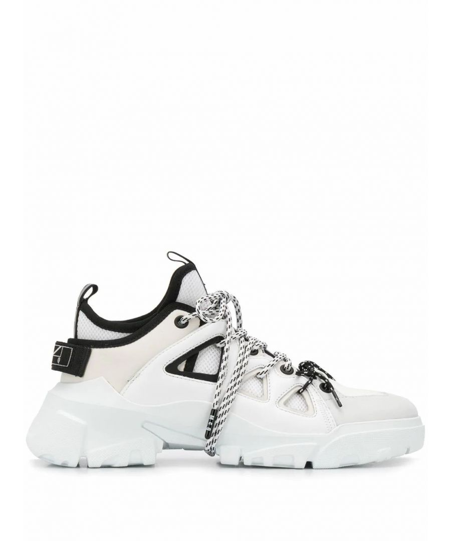 Image for MCQ BY ALEXANDER MCQUEEN WOMEN'S 599097R26781065W WHITE LEATHER SNEAKERS