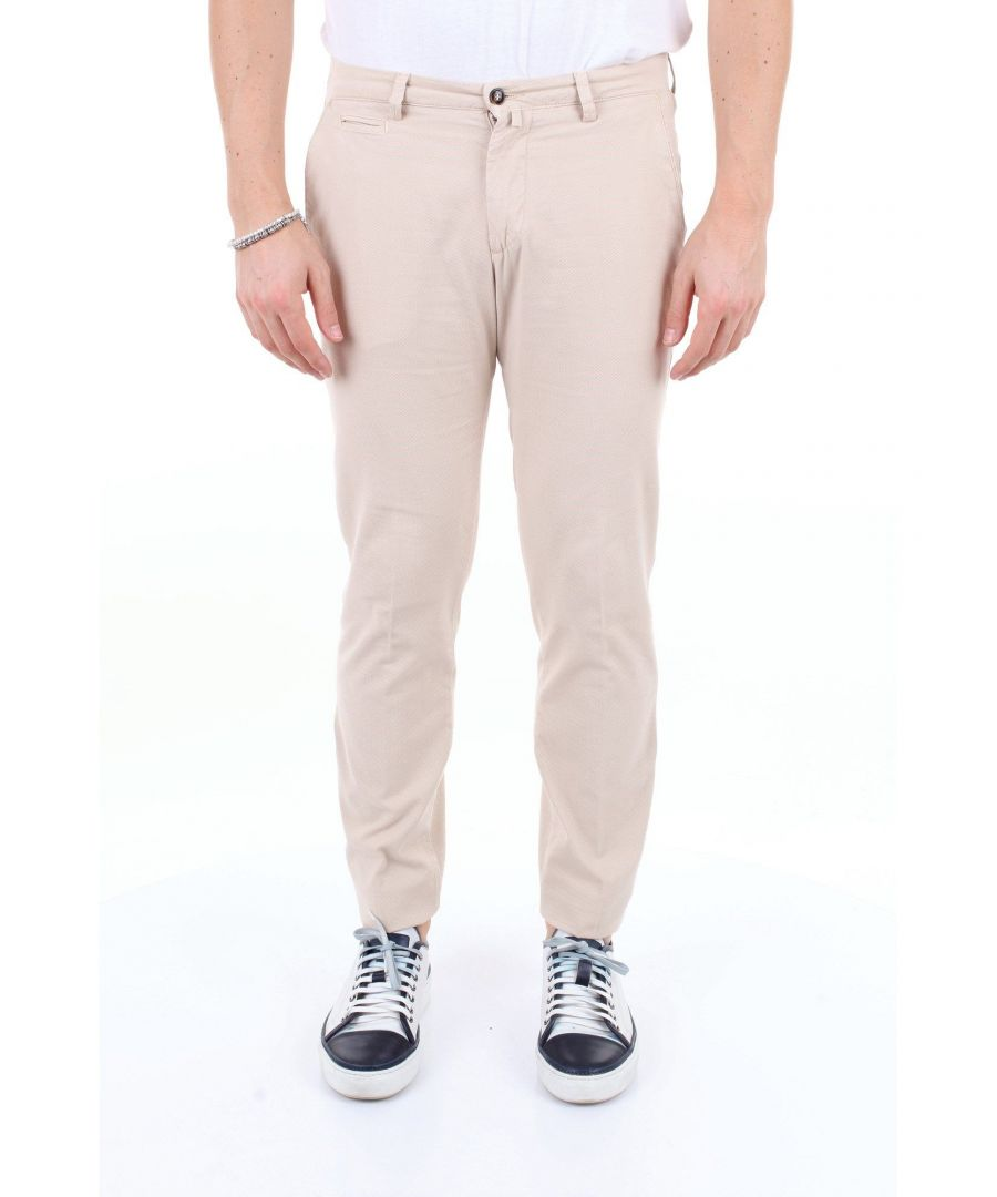 Image for BRIGLIA 1949 MEN'S BG0539577BEIGE BEIGE COTTON PANTS