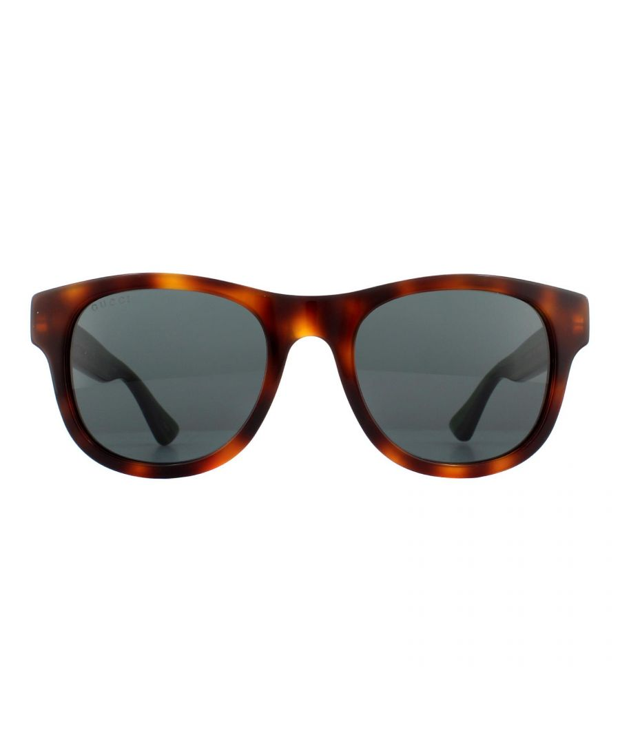 Image for Gucci Sunglasses GG0003S 003 Havana Green Red Green