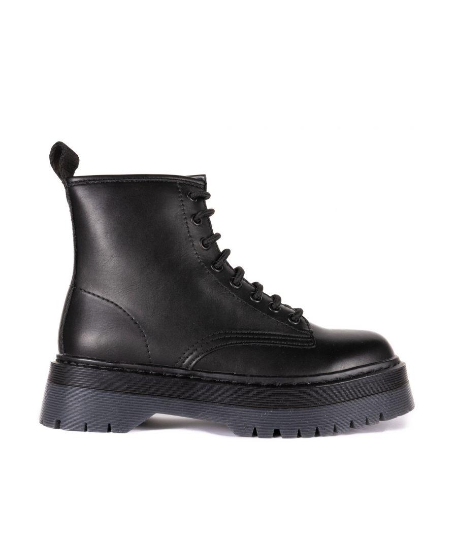 Image for María Barceló Platform Boots in Black