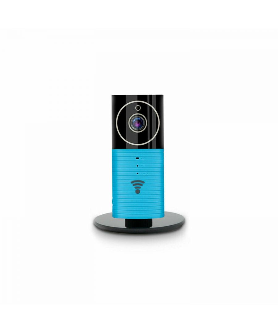 Image for Clever Dog Panorama WiFi Wireless Security HD Camera Blue