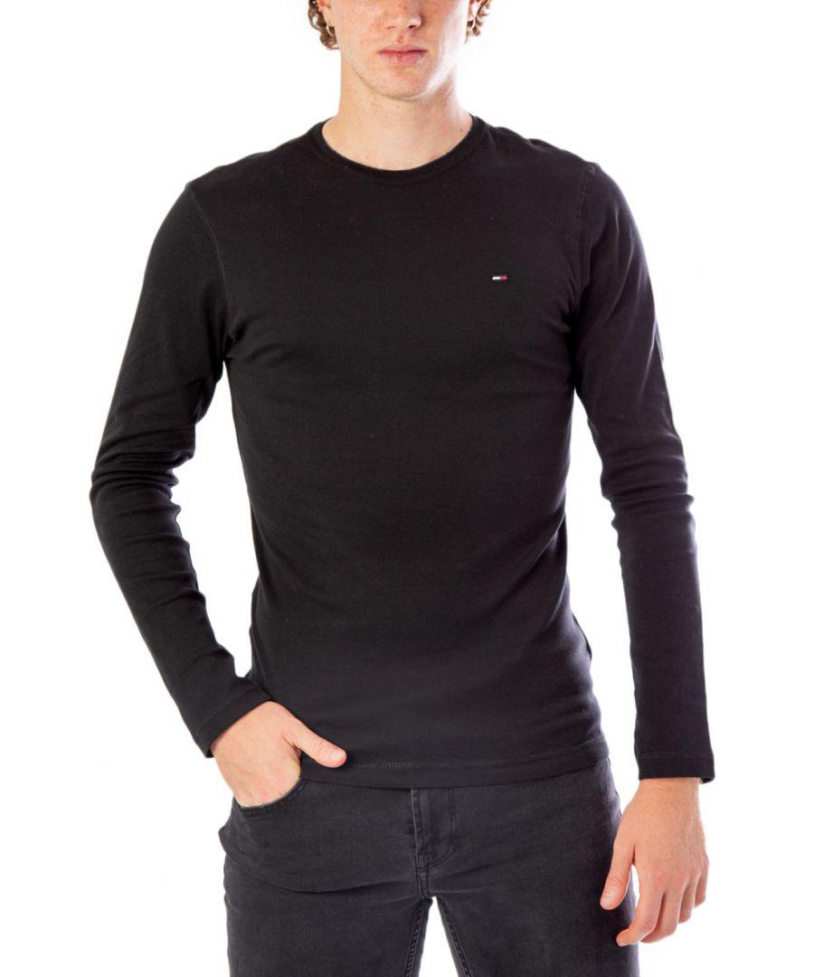 Image for Tommy Hilfiger Men's T-Shirt in Black