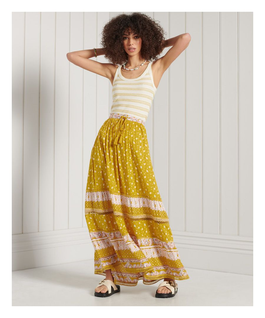 Image for SUPERDRY Ameera Maxi Skirt