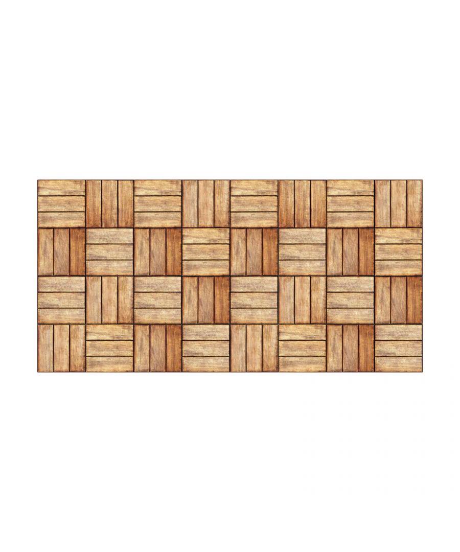 Image for WFS6036 - Floor Stickers Vintage Wooden Floor 120cm x 60 cm