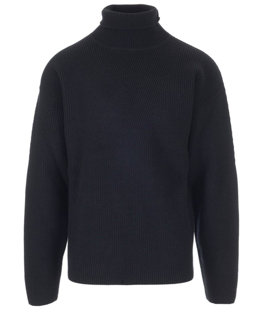 Image for TOM FORD MEN'S BRM87TFK120K09 BLACK WOOL SWEATER