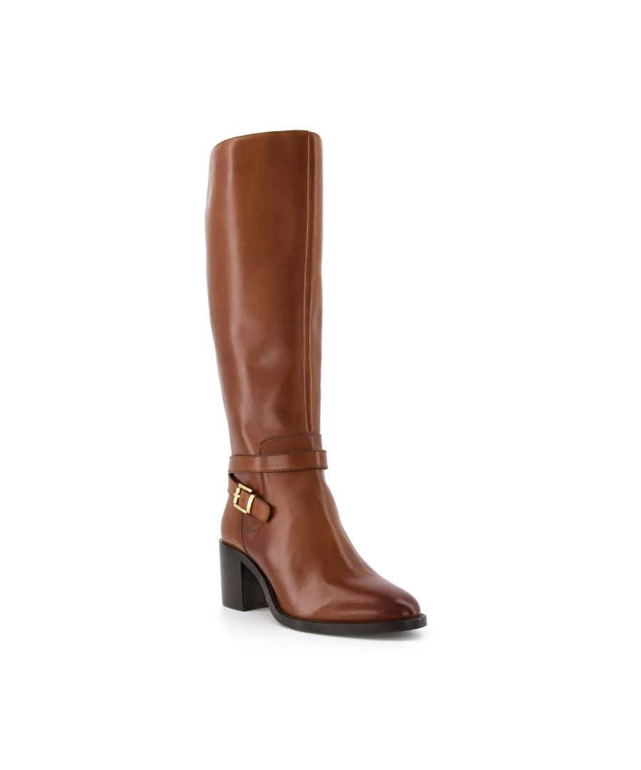 Image for Dune Ladies TOWN Double Strap Knee High Boots