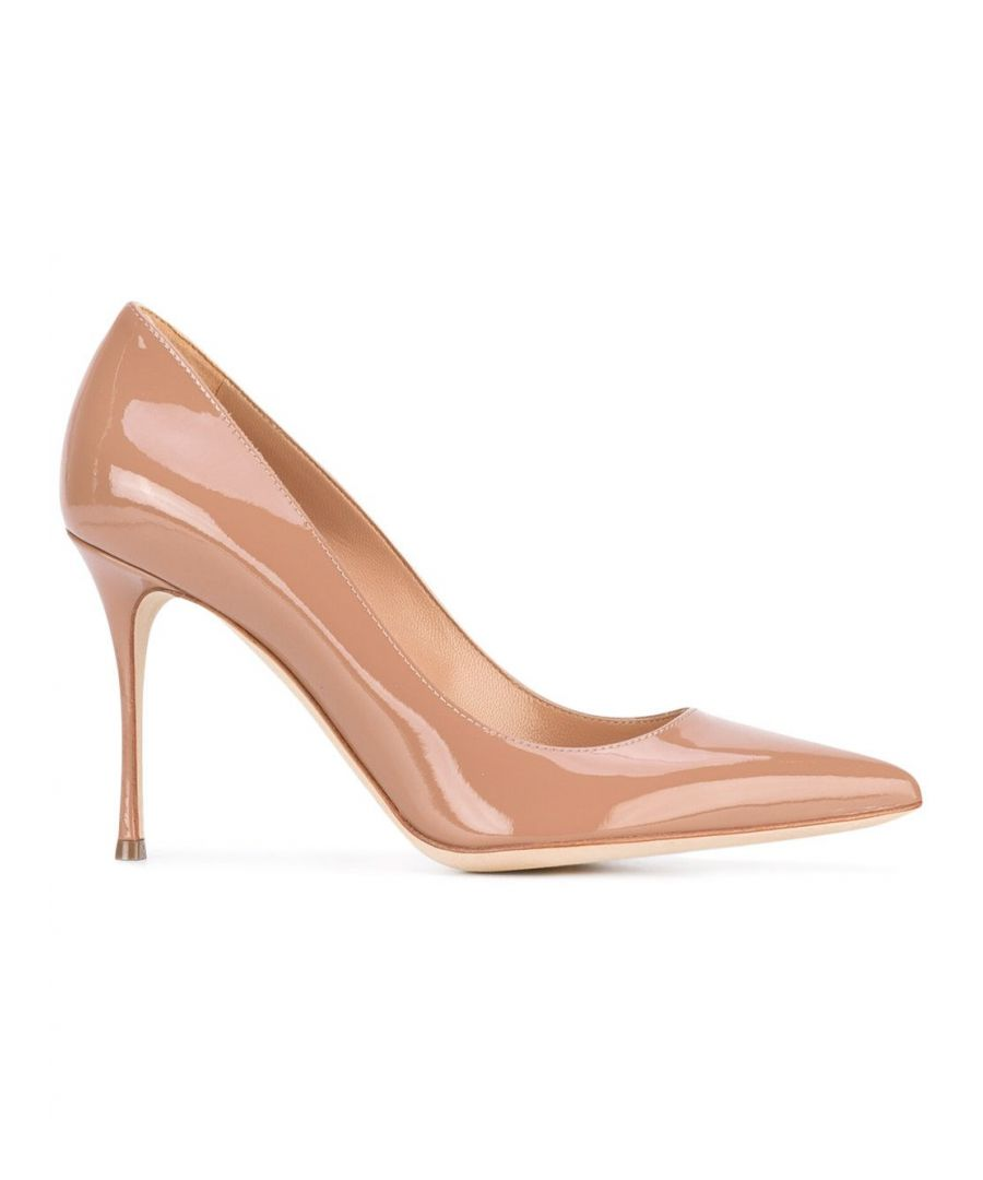 Image for SERGIO ROSSI WOMEN'S A43843MVIV015755 PINK LEATHER PUMPS