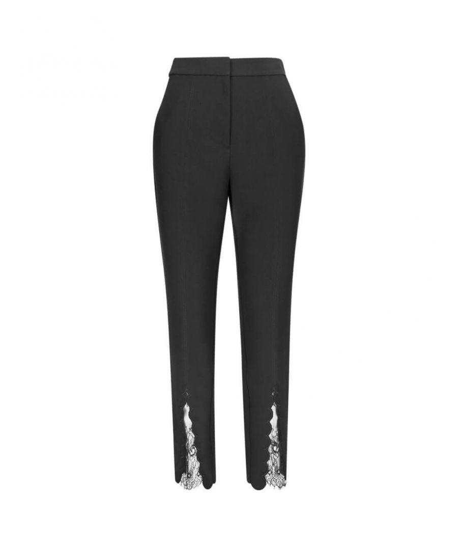Image for SELF-PORTRAIT WOMEN'S SP22130BLACK BLACK POLYESTER PANTS
