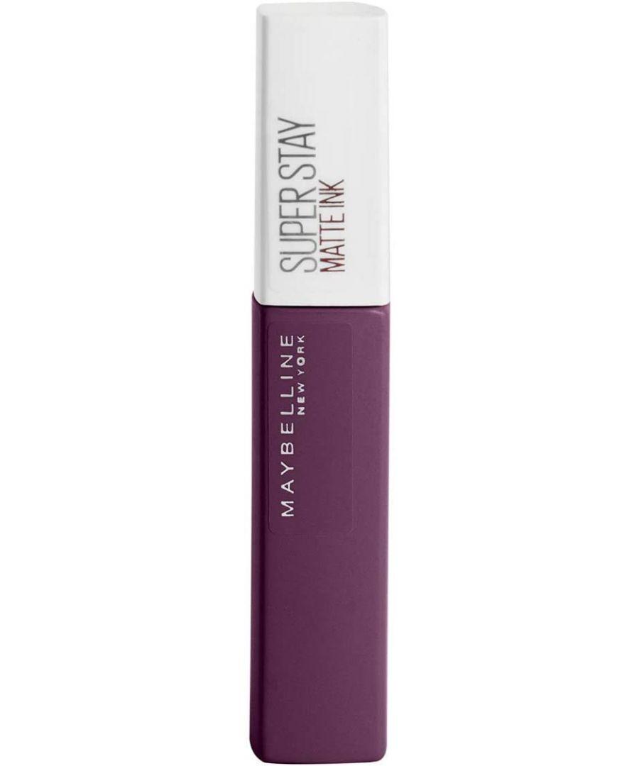 Image for Maybelline New York Superstay Matte Ink Liquid Lipstick - 110 Originator