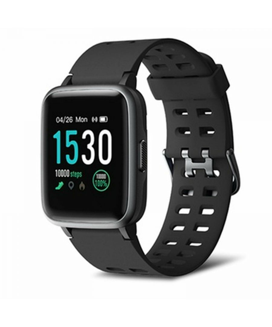 Image for Aquarius 149 Fitness Watch Heart Rate & 7 Sports tracking mode Black