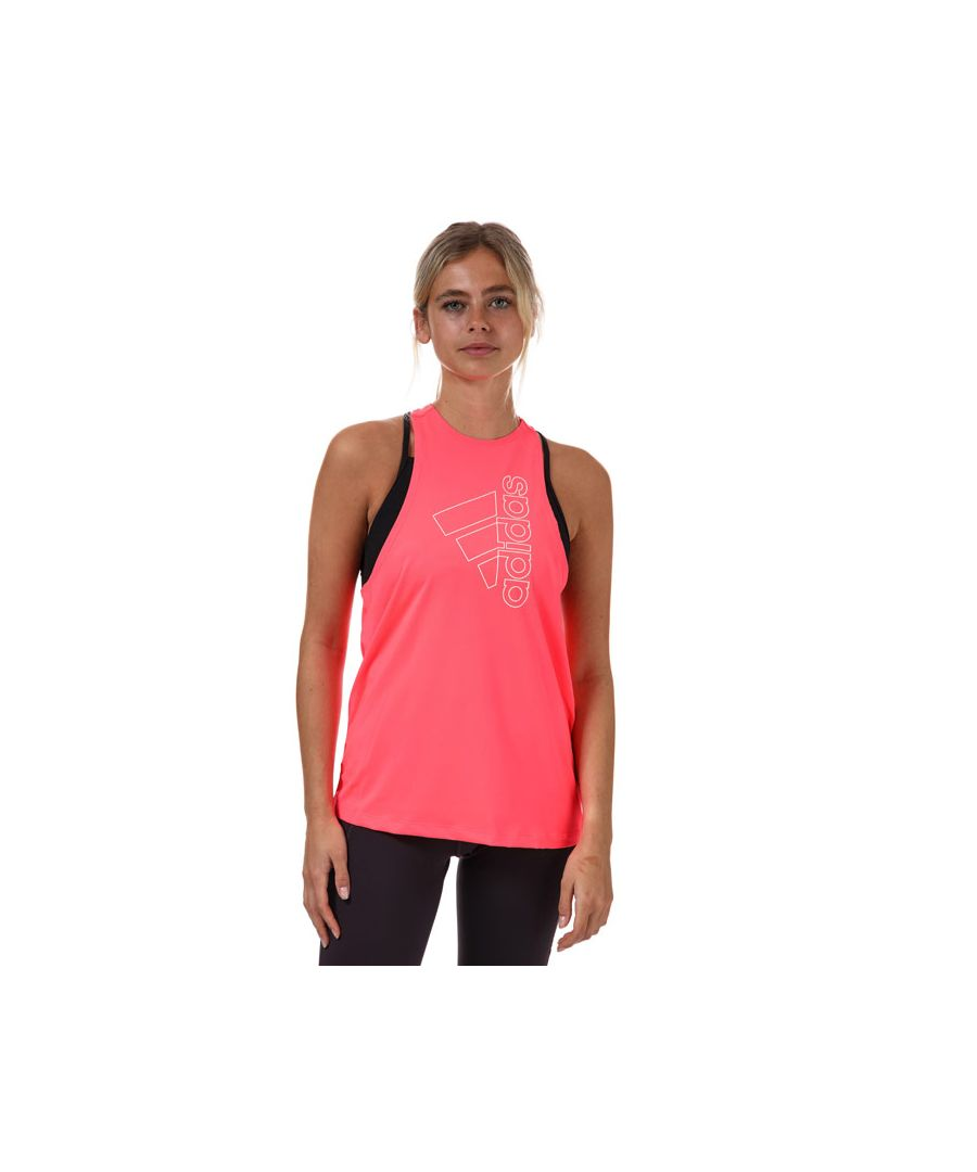 Image for Women's adidas Badge Of Sport Tank Top in Pink