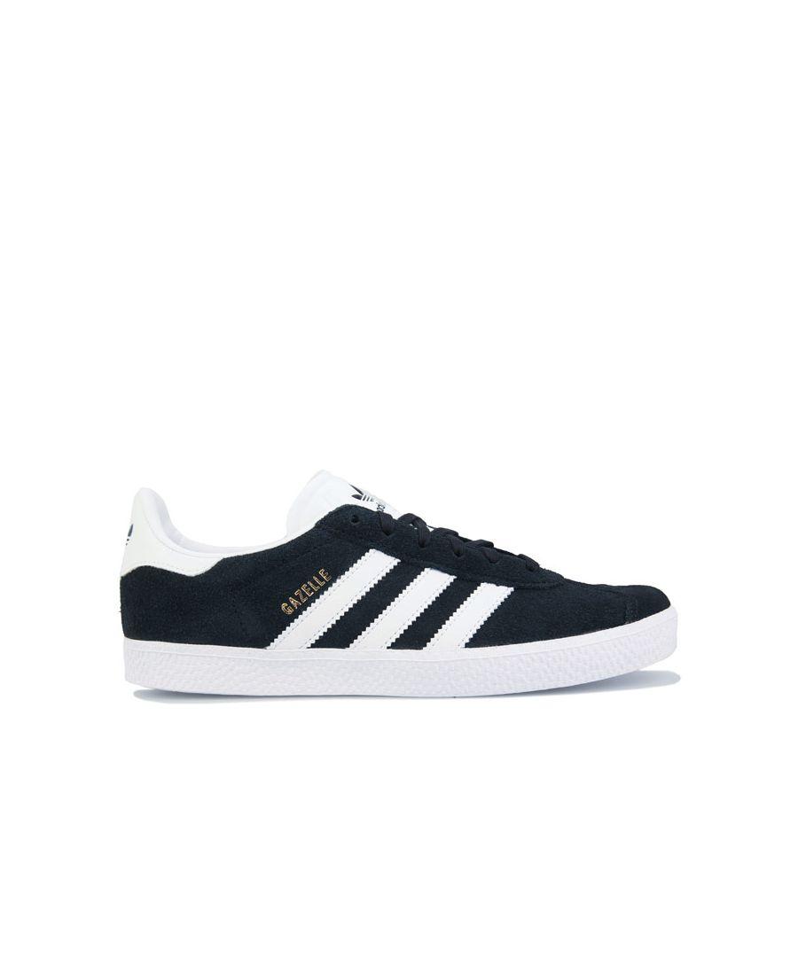 Image for Boy's adidas Originals Children Gazelle Trainers in Black