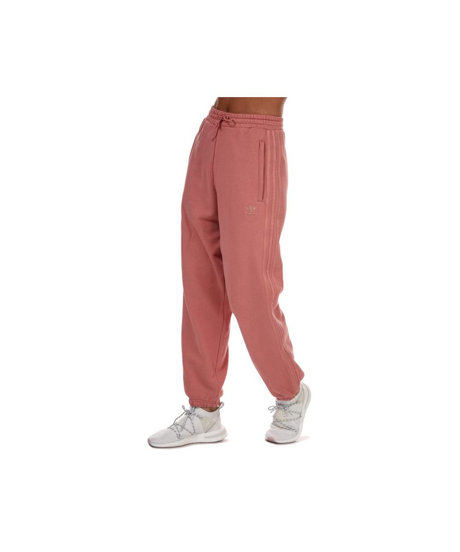 Image for Women's adidas Originals Cuffed Sweatpants in Dusky Pink