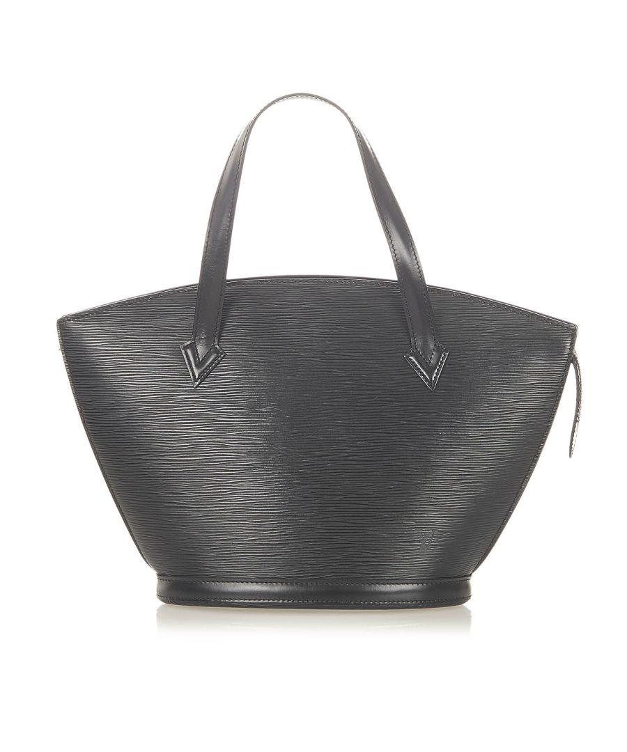 Image for Vintage Louis Vuitton Epi Saint Jacques Pm Short Strap Black