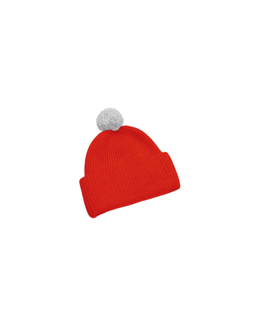 Image for Cashmere Hat In Red