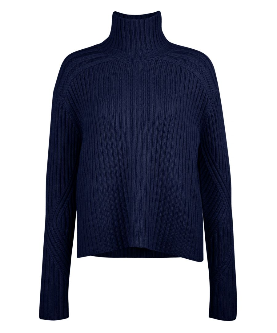 Image for Merino Wool Jumper In Blue