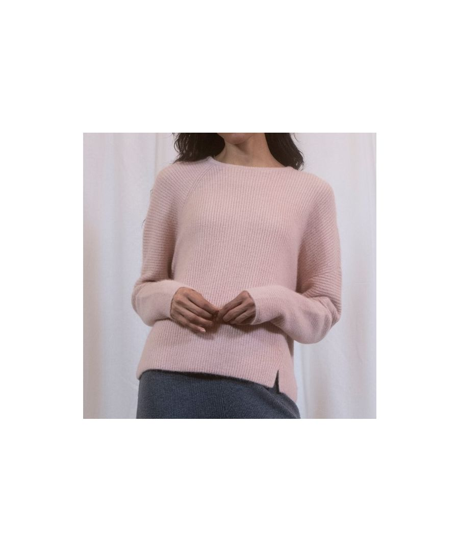 Image for Pink Mixed Blend Chunky Knit