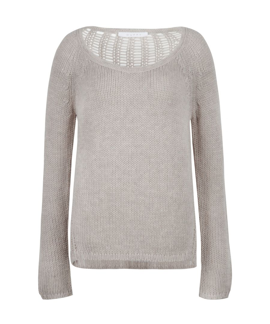 Image for Wool & Cashmere Blend Jumper In Grey
