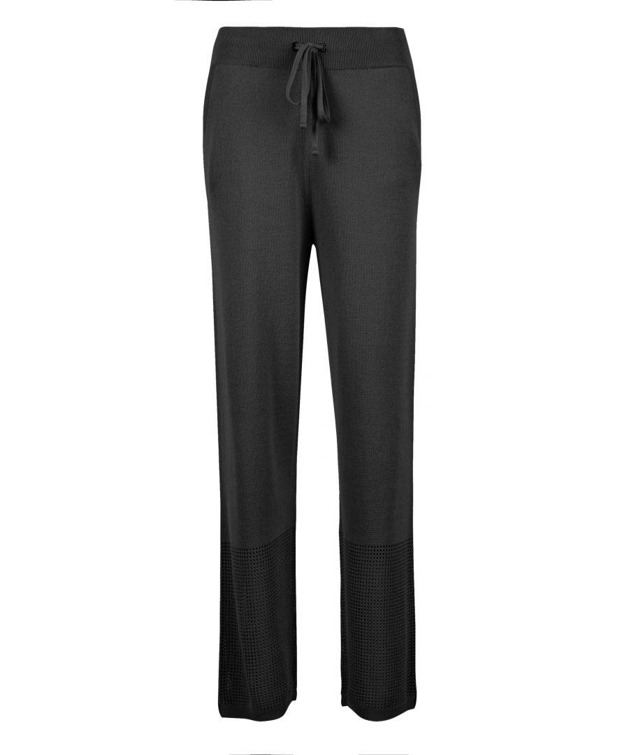 Image for Black Mesh Leisure Lightweight Pants