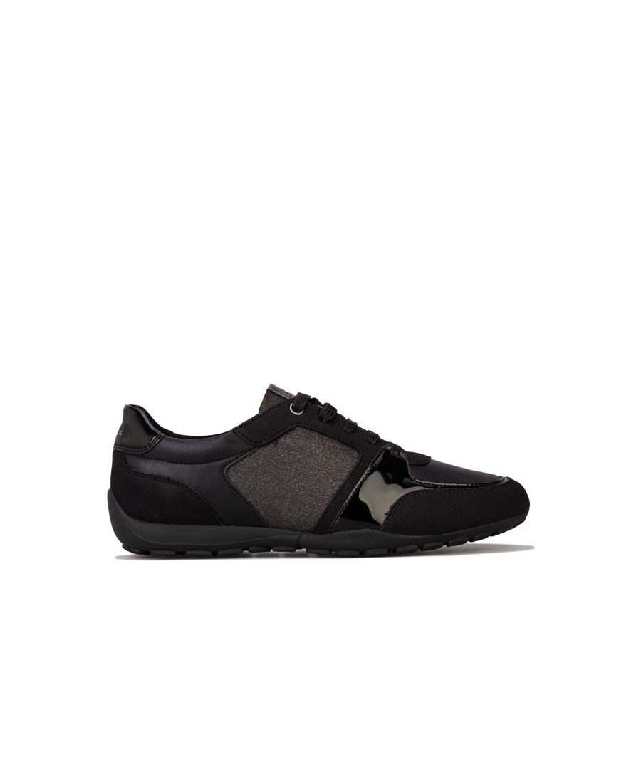 Image for Women's Geox Ravex Trainers in Black