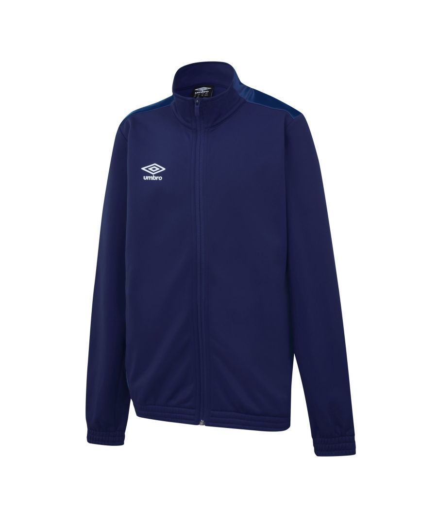 Image for Umbro Boys Knitted Jacket (Navy/Dark Navy)