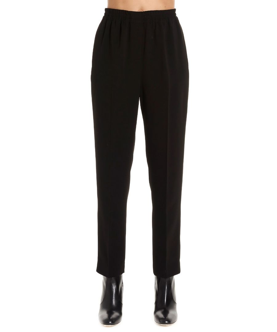 Image for THEORY WOMEN'S J0509210001 BLACK SYNTHETIC FIBERS PANTS