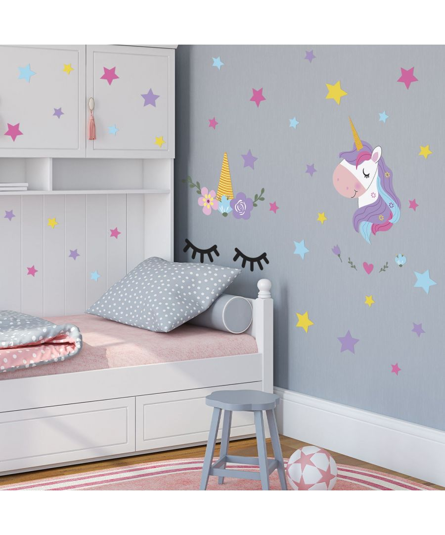 Image for Wall Art - Sleepy Unicorns