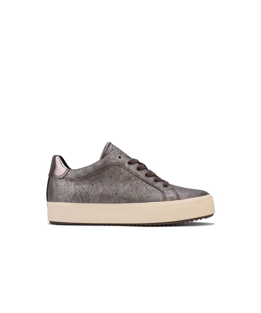 Image for Women's Geox Blomiee High Trainers in Chestnut